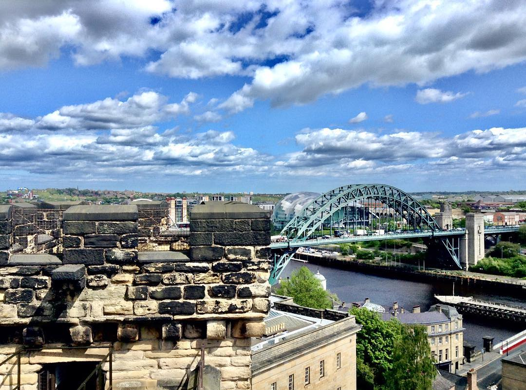 ON THE NEWCASTLE CASTLE